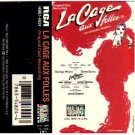 La Cage Aux Folles - Broadway Musical Cassette Tape