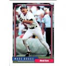 1992 Topps # 10 Wade Boggs Boston Red Sox Baseball Card