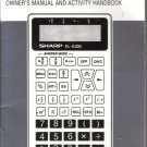 Sharp EL-E300 Calculator Manual
