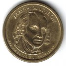 "2007-P Presidential Dollar. ""James Madison"""