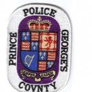 Prince George's County Police Patch
