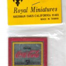 Royal Miniatures Coca Cola Mirror