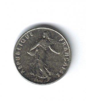 1985 - 1/2 FRANC - REPUBLIQUE FRANCAISE -  FRANCE