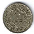 Morocco 10 francs