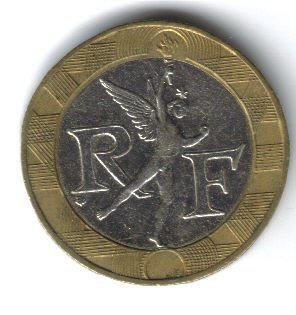 1990 10 Franc Coin