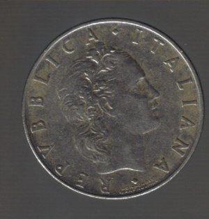 1956r italy 50 lire