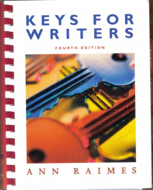 Keys For Writers 4th edition by Ann Raimes