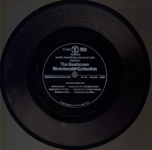 Time Life Records- The Beethoven Bicentennial Collection (One sided)