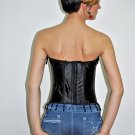HONEY LEMON - Fancy Black Corset XL