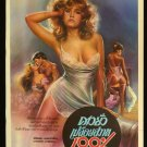 Original Blue Money Thai Movie Poster Sexy Erotic Nude Picture
