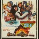 Original The Rip Off Thai Movie Poster Lee Vancleef