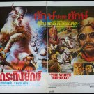 Original THE WHITE BUFFALO 2 Sheet Thai Movie Poster