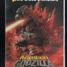 Original Godzilla 2000 Thai Movie Poster