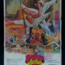 Rare Vintage Shaolin Drunk Fighter Movie Thai Poster  Kung Fu Chinese