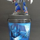 Transformer 4 Age of Extinction Optimus  Figures Topper Toys & Cup No Blu Ray