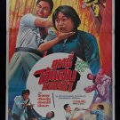 Orig. Vintage The Bone Crushing Kid Kung Fu Chinese Thai Movie Poster