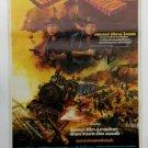 Rare Vintage Thai Horror Movie Sam Sure Suphan Thai Movie Poster  Unused
