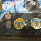 Original Tomorrowland Blu Ray 2 Disk Unopened with 2 Collector pins New