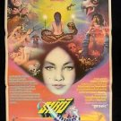 Orig Vintage Black Magic Queen Thai Movie Poster Chinese Horror Susana