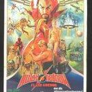 Orig Vintage Flash Gordon Thai Movie Poster