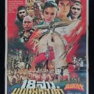 Rare Vintage The 18 Bronzzegirls of Shaolin Kung Fu Movie Thai Poster