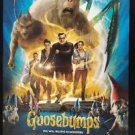 Orig Goosebumps 2016  USA DS Movie Poster DS 27x40 Intl 1 One Sheet