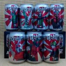 Kamen Rider set of 7 Can with Limited Edition Boxes by Soya Drink Thailand