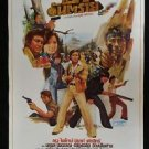 Rare Vintage Thai Action Drama   Painted Poster by Tongdee Title Par Untarai