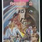 Orig. Vintage From Beyond 2 1986 Thai movie Poster Wars  No Blu Ray