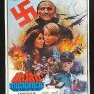 Orig. Vintage A Man Called Intrepid 1979 Thai movie Poster Wars  No Blu Ray