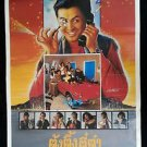 Vintage Hong Kong Movie Thai Poster The Eight Happiness 1988 Chow Yun Fat