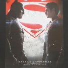 Orig. Batman Vs Superman 2016 USA DS Movie Poster 27x40 Intl  Coming Soon In 3D