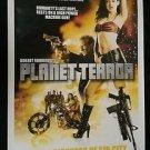 Original Planet Terror DS movie poster DS 27x40 Thai Rodriguez Quentin Tarantino