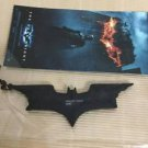 Batman The Dark Knight 2008 Logo Rubber Keychain Unused Asia Only Limited