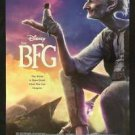 DISNEY'S THE BFG Original 27x40 USA DS Movie Poster STEVEN SPIELBERG