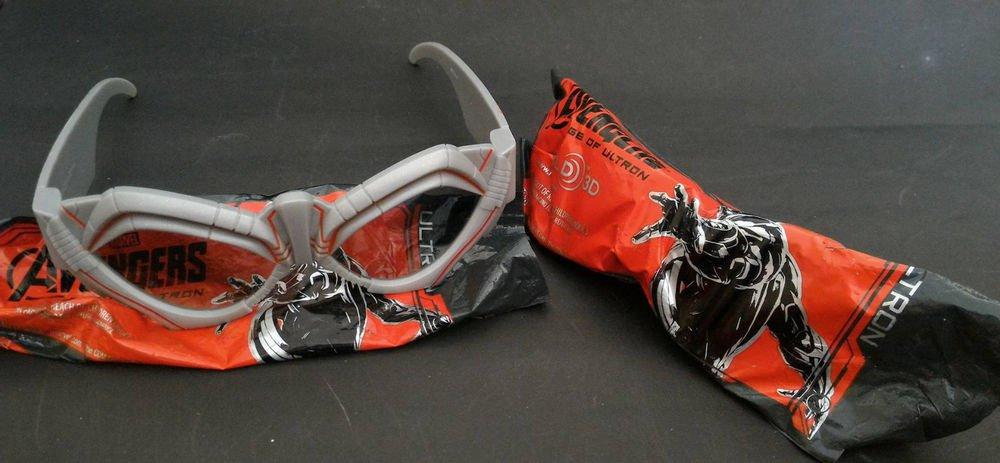 Avenger Age of Ultron 3D Glasses Ultron No Civil War Unused Brand New