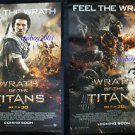 Set of 2 Different Orig Wrath of the Titans Movie Poster DS 27x40 Liam Neeson