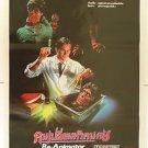 Ori Vintage Re Animator 1985 Thai Movie Poster Cult Horror No Blu Ray DVD