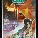 Original  Vintage The Changeling 1980 Thai Movie Poster Horror Cult Peter Medak
