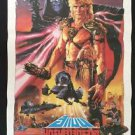 Master of the Universe Thai movie Poster 1987 No DVD Blu Ray  Dolph Lundgren