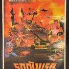100% Original Breakthrough 1979 Thai Movie Poster Richard Burton  No DVD Blu Ray