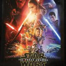 Rare Original Star Wars The Force Awakens IMAX 3D DS Movie Poster 27x40 inches