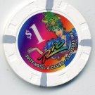 $1 Dollar Old Rio Casino Chip Vintage Las Vegas H/C Mold