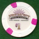 $1 Dollar Fremont Casino Chip in Downtown Las Vegas