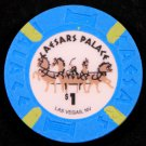 $1 Dollar Caesars Palace Hotel Casino Chip LAS VEGAS NV