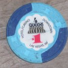 $1 Dollar Four Queens Casino Chip Las Vegas NV 6TH Edition