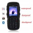 "X9 2.0"" Waterproof Dustproof Shockproof  Dual SIM Cell Phone Quad Band FM Bluetooth"