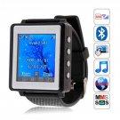 AK810 GSM Tri-band Single Sim  Watch Mobile Phone the Cheapest Watch Phone
