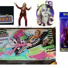 NECA Cult Classics Beetlejuice Red Suit & Beetlejuice Vehicle