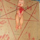 Film Project Custom Horror Prop - Crucified Baby